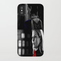 swan queen iPhone & iPod Cases featuring Swan Queen by EvilQueenFann