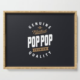 Pop Pop Premium Quality Serving Tray