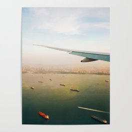 soaring over singapore Poster