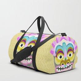 Aloha Tiki Mask Duffle Bag