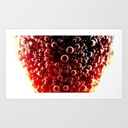 Strawberry Champagne Art Print