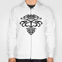 Tribal Face Hoody