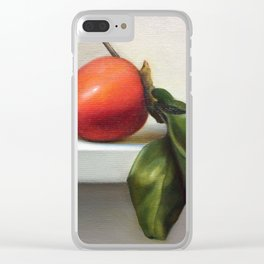 Persimmons Clear iPhone Case