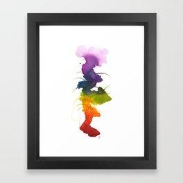 Little Chakra Tree Framed Art Print