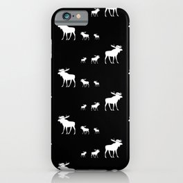 little big moose pattern iPhone Case