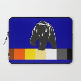 Bear pride LGBT Gay Bear Flag Laptop Sleeve