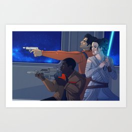 Star Destroyer Art Print