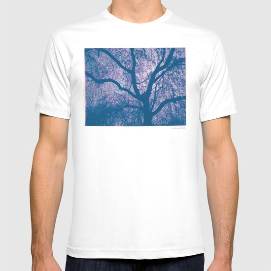 Cherry Blossom Blue T-shirt