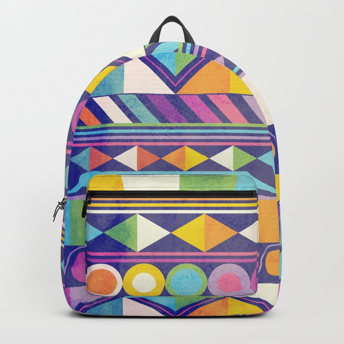 Texture and Colour 1 Backpack