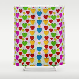 So sweet and hearty as love can be Shower Curtain