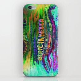 Believe In America iPhone Skin