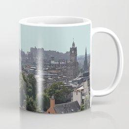 Edinburgh Cityscape Travel Artwork Coffee Mug