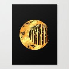 Nature moon Canvas Print