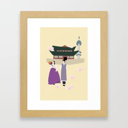 From Korea with Love  Framed Art Print