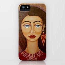 Woman´s Market iPhone Case