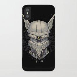 Viking robot iPhone Case