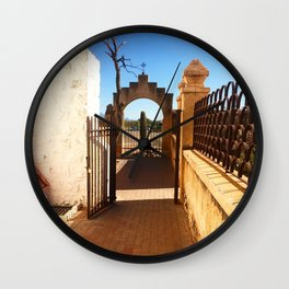 San Xavier 3 Wall Clock