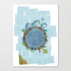Adamastor Canvas Print
