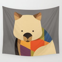 Wombat Wall Tapestry