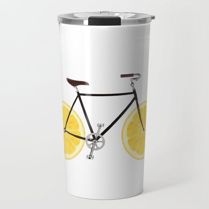 Lemon Bike Travel Mug