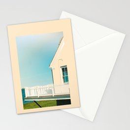 Cottage by the sea Stationery Cards