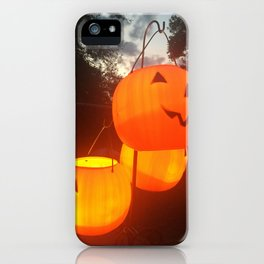 Glowing Grin iPhone Case