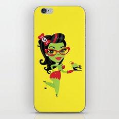 Bettie Bakes a Doomcake iPhone & iPod Skin