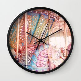 Carousel 1 Wall Clock