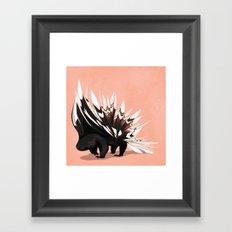 Porcupine Framed Art Print
