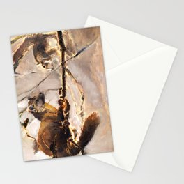 The hunter Stationery Cards