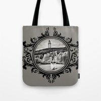 destiny Tote Bags featuring Destiny by Legend Factory