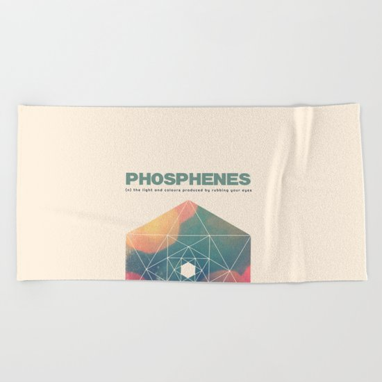 Phosphenes Beach Towel
