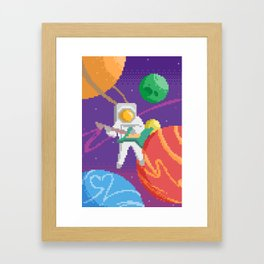 Guardian of Your Galaxy Framed Art Print