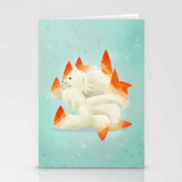 038 Ninetales Stationery Cards