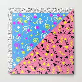 SAVED BY THE 90'S Metal Print
