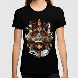Ghibli Izakaya Print Coloured T-shirt