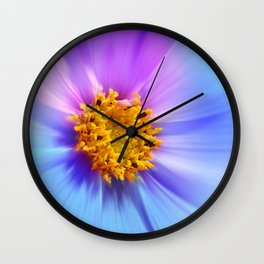 Cosmea Colorful 196 Wall Clock