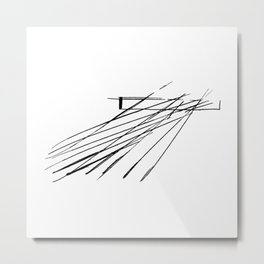 Salerno Maritime Terminal by Zaha Hadid Architects Metal Print