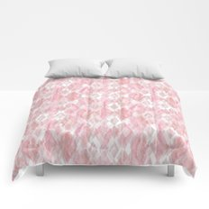Harlequin Marble Mix Blush Comforters