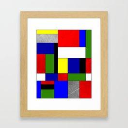Mondrian #4 Framed Art Print
