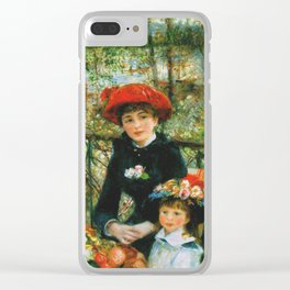 Auguste Renoir - On The Terrace Clear iPhone Case