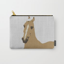 Abstract Palomino Horse Carry-All Pouch