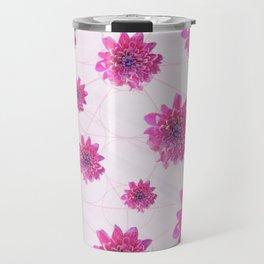 Pink pattern Travel Mug