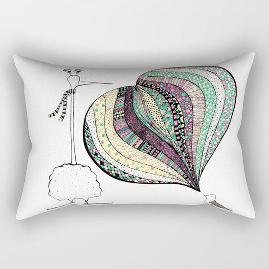 too tall Rectangular Pillow