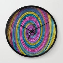 Marabou Colours Swirl Wall Clock