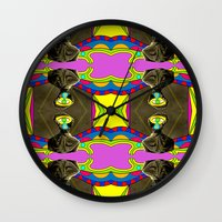 dancer Wall Clocks featuring Dancer by Joe Pansa