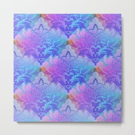 Damask Tapestry Pattern III Metal Print