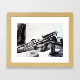 Strap Up Framed Art Print