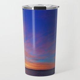 Watercolored Sky Travel Mug