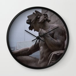 Thinkin' Hard Wall Clock